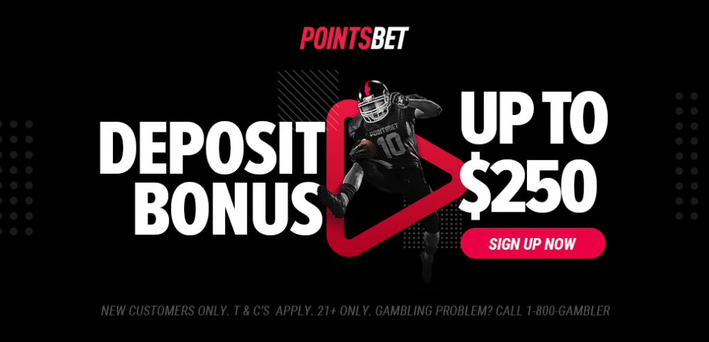 Points Bet Deposit Bonus
